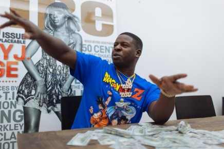 Blac Youngsta Clowning in a StoreLol