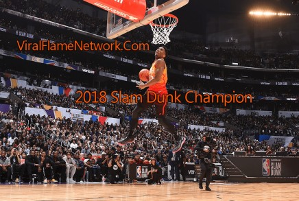 Donovan Mitchell 2018 Slam Dunk Champ