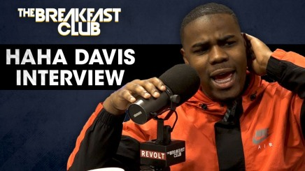 HaHa Davis Interview with the breakfast club (talks where he worked while pursuing his career)