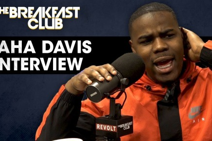 HaHa Davis Interview with the breakfast club (talks where he worked while pursuing hiscareer)