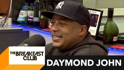 Daymond John Talks Business and gives financial advice at The Breakfast Club
