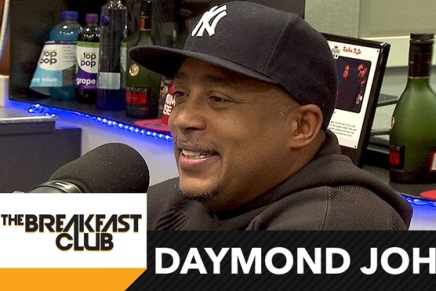 Daymond John Talks Business and gives financial advice at The BreakfastClub