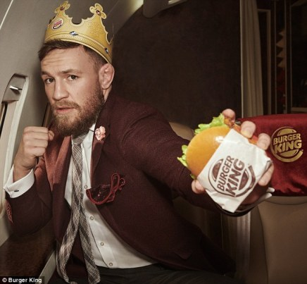 Connor Mcgregor Burger King Commercial