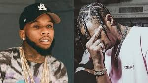 Tory Lanez and Travis Scott almost get into afight