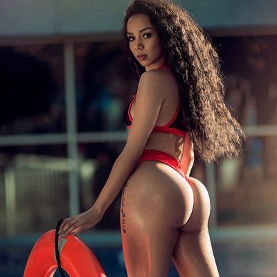 Brittany Renner showing off her soccer skills