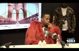 """Safaree cries during Angie Martinez interview after getting robbed """"They took everything"""""""