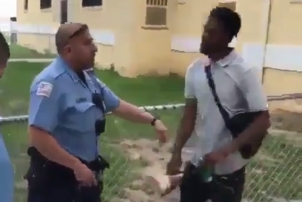 Dude escapes police with ease