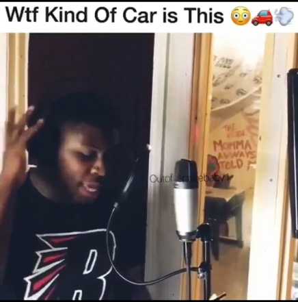 What Kind Of Car Is He Driving Lol ? (Rappers Be Like)  (Out Of Space Baby)