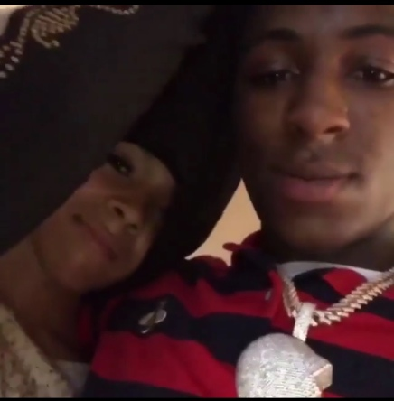 NBA YOUNGBOY SHOWS OFF HIS NEW GF AND CONFIRMS JANIA IS PREGNANT