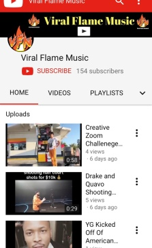 VIRAL FLAME MUSIC