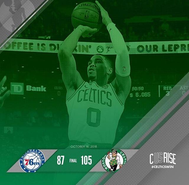 Jayson Tatum Emerges As Celtics Beat 76ers In Blowout Fashion ( VFN SPORTS)
