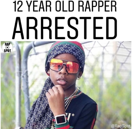 12 Year Rapper Corey J Harrassed By Police In TheMall