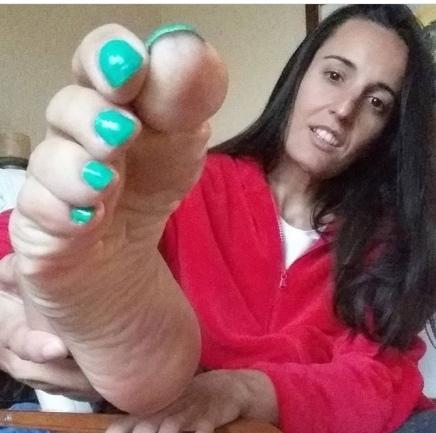 Foot Model Catherine Tramell @Ms_feet1 (VFN Foot Models)