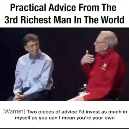 Warren Buffett's Investment Advice ( Viral Flame Network )