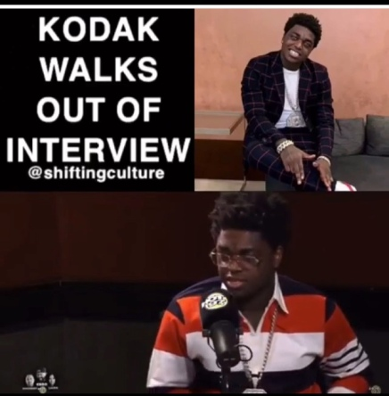Kodak Black Walks Out Of Hot 97 Interview ( Viral Flame Network )