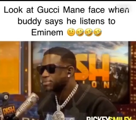 Gucci Mane Says He Doesn't Listen To Eminem ( Viral Flame Network )
