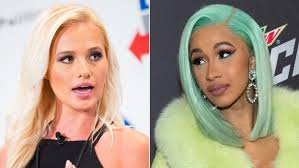 Cardi B and Tomi Lahren go at each other on Twitter ( VIRAL FLAME NETWORK )