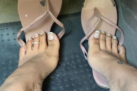 LATINA Boricua Baby @higharch_latina ( VFN FOOT MODELS)
