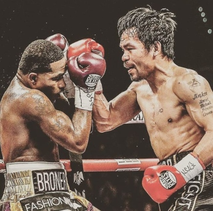Adrien Broner goes down to Pacquiao via Unanimous Decision ( Viral Flame Network )