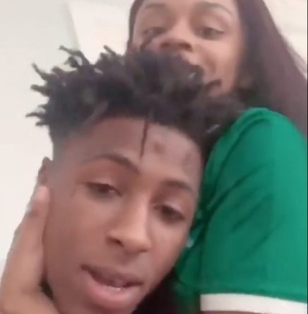 Nba Young Boy and Floyd Mayweather's Daughter Money Yaya Hanging Out ( Viral Flame Network)